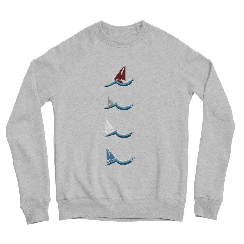 Nautical Sailing Women's Sponge Fleece Sweatshirt by Svaeth's Artist Shop