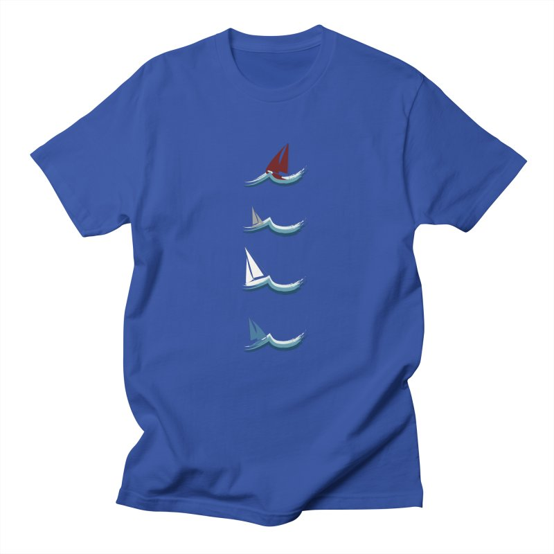 Nautical Sailing Men's T-Shirt by Svaeth's Artist Shop