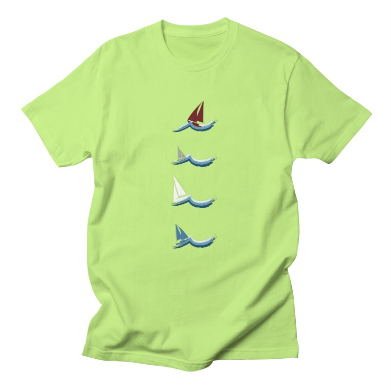 Nautical Sailing Men's T-Shirt by Svaeth's Artist Shop