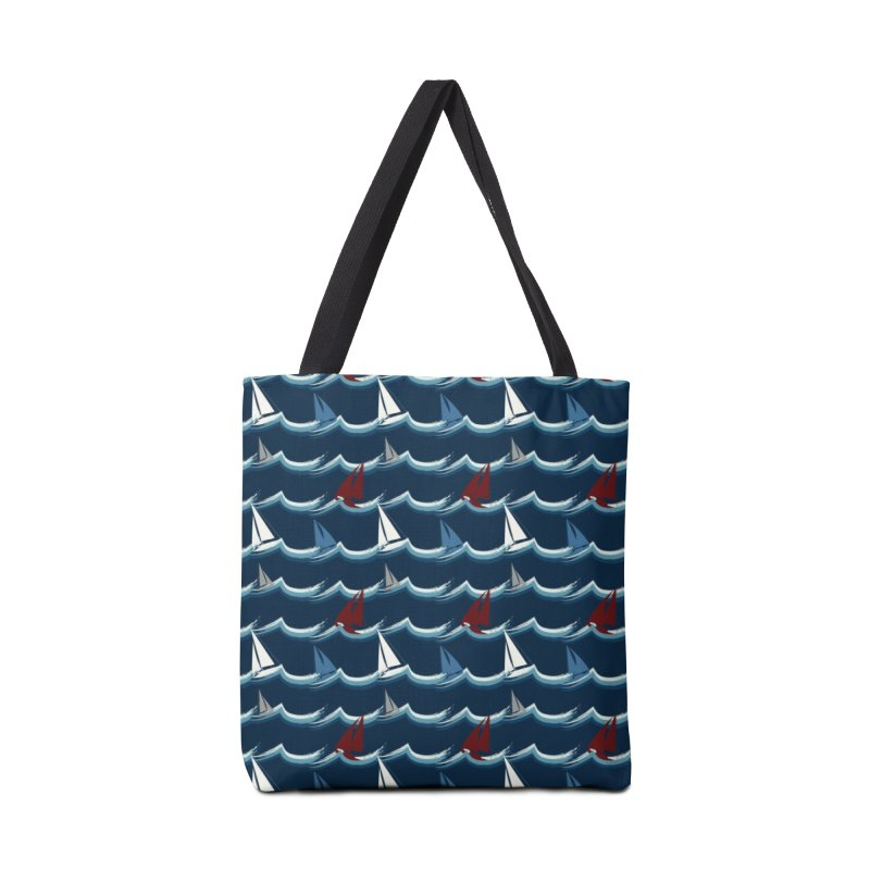 Nautical Sailing Accessories Bag by Svaeth's Artist Shop