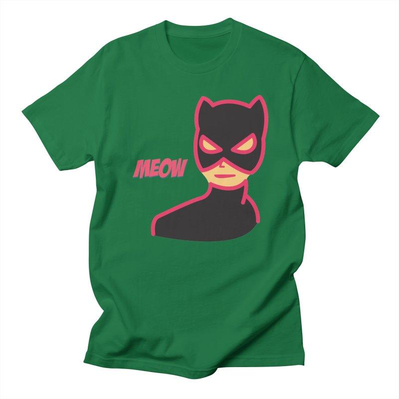 Catwoman Women's Unisex T-Shirt by Gazzarro Designs