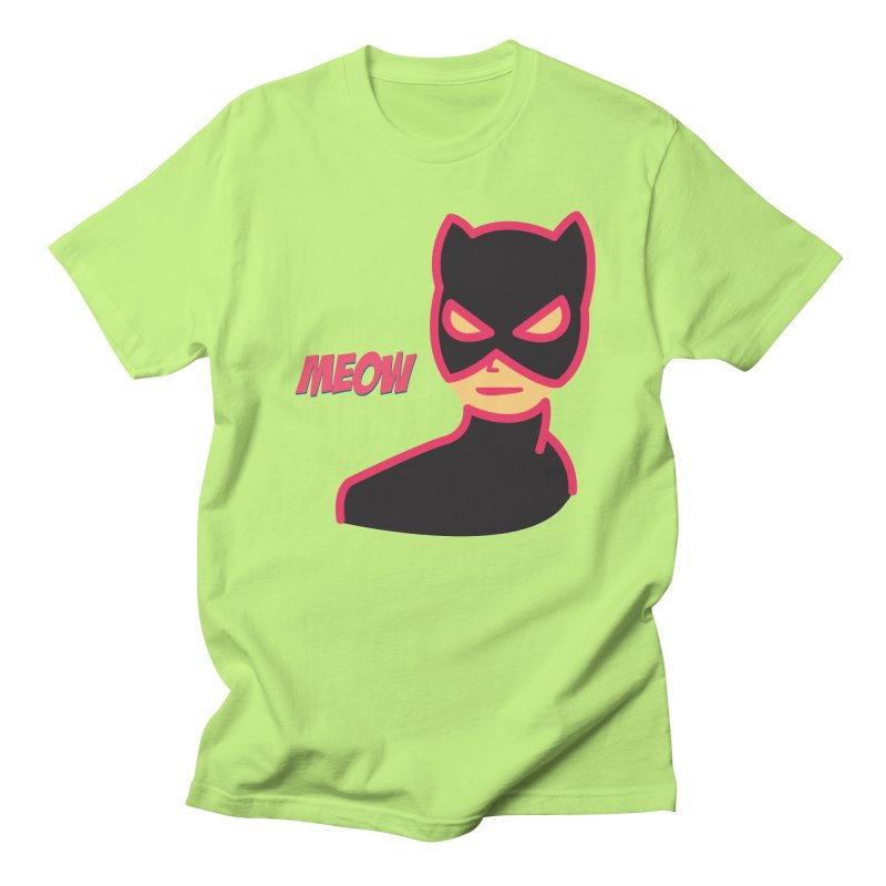 Catwoman Men's T-shirt by Gazzarro Designs