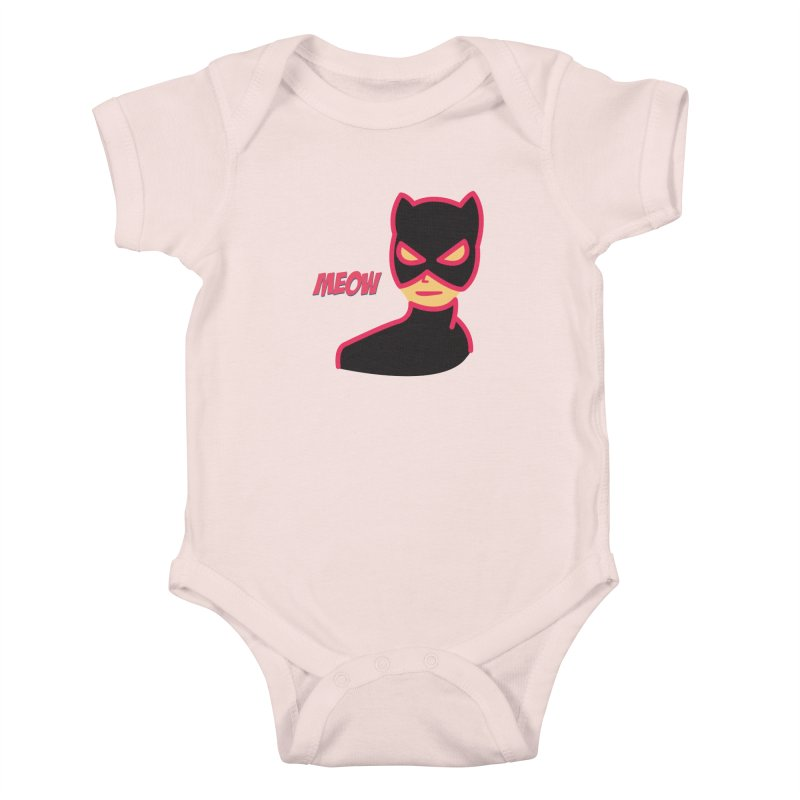 Catwoman Kids Baby Bodysuit by Gazzarro Designs