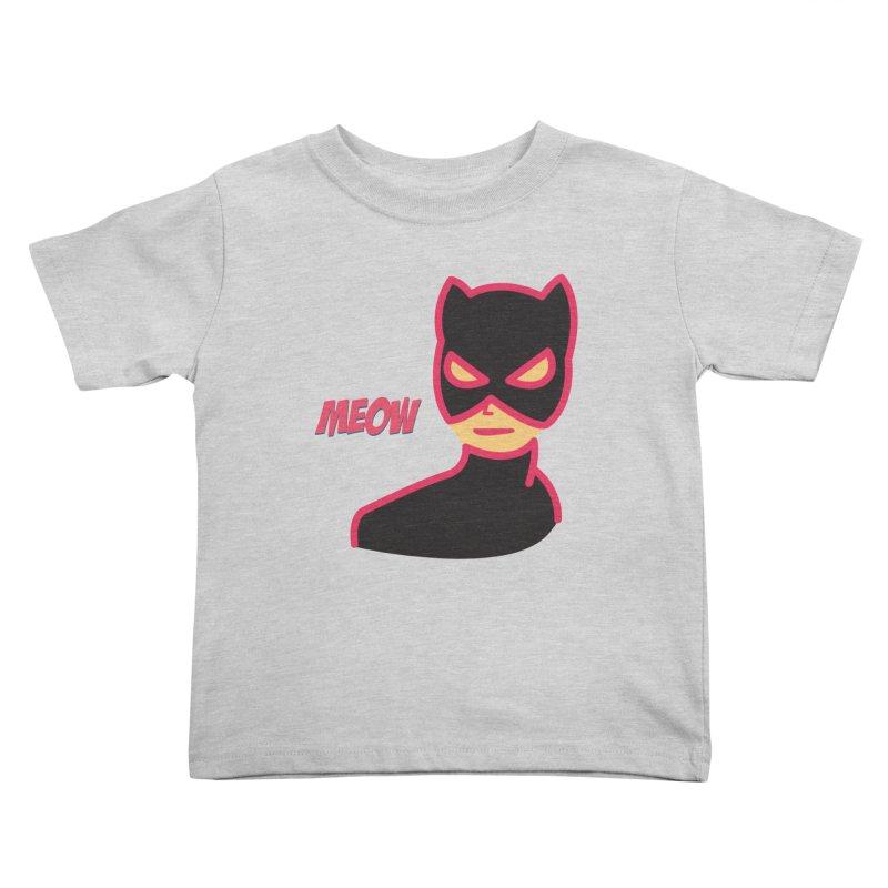 Catwoman Kids Toddler T-Shirt by Gazzarro Designs