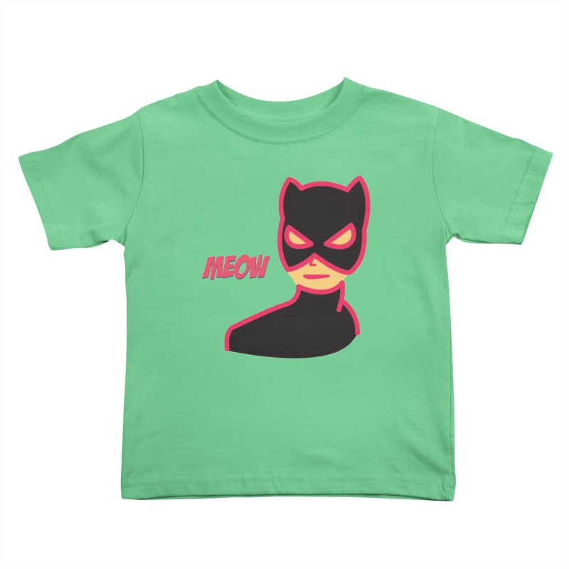 Catwoman Kids Toddler T-Shirt by Gazzarro Designs