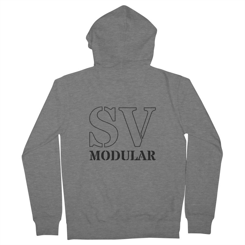 SV Modular Logo Men's Zip-Up Hoody by SV Modular