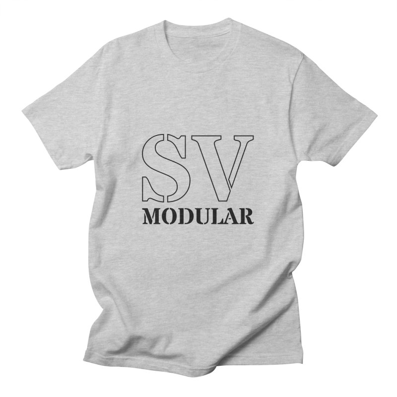 SV Modular Logo Men's T-Shirt by SV Modular