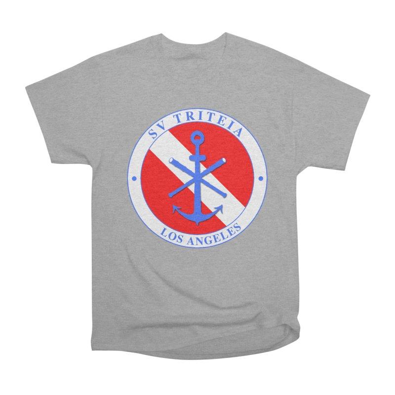 SV TRITEIA DIVE TEAM Women's Heavyweight Unisex T-Shirt by Sailor James