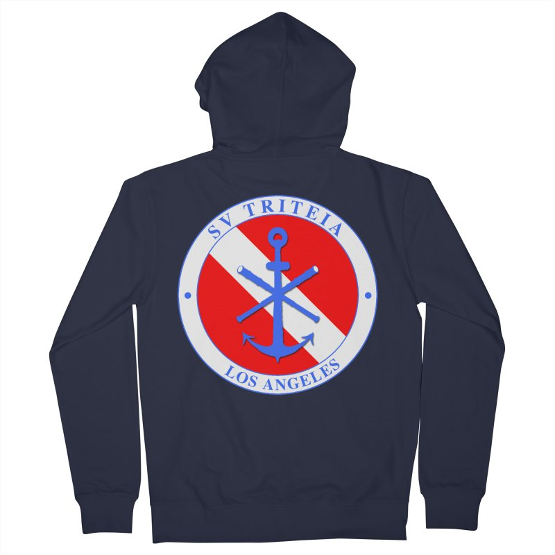 SV TRITEIA DIVE TEAM Men's French Terry Zip-Up Hoody by Sailor James