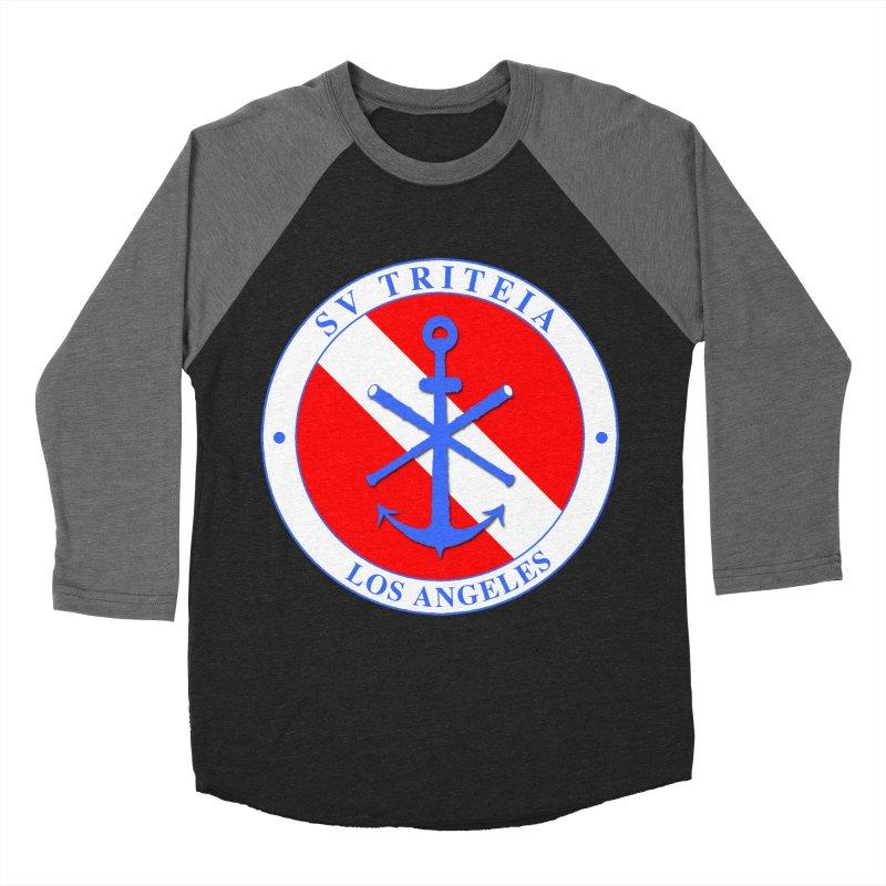 SV TRITEIA DIVE TEAM Women's Baseball Triblend Longsleeve T-Shirt by Sailor James