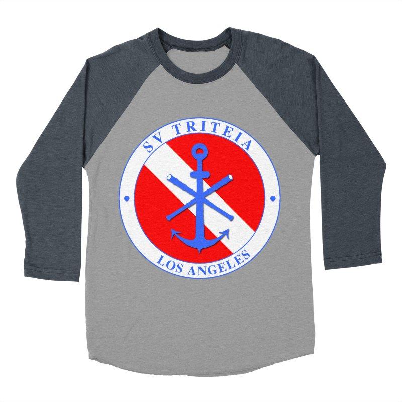 SV TRITEIA DIVE TEAM Men's Baseball Triblend Longsleeve T-Shirt by Sailor James