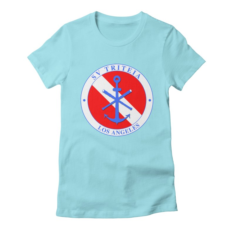 SV TRITEIA DIVE TEAM Women's Fitted T-Shirt by Sailor James
