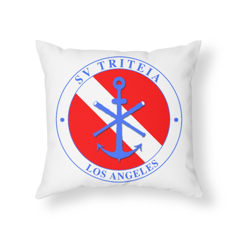SV TRITEIA DIVE TEAM Home Throw Pillow by Sailor James