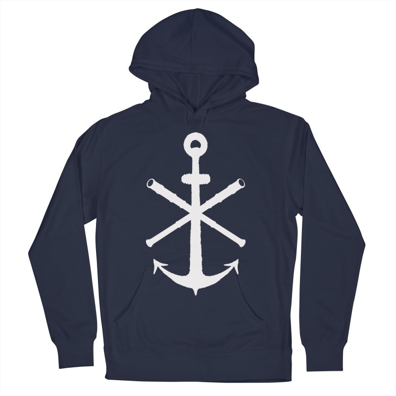 All Ways But Still Oversized Logo - White  Men's Pullover Hoody by Sailor James