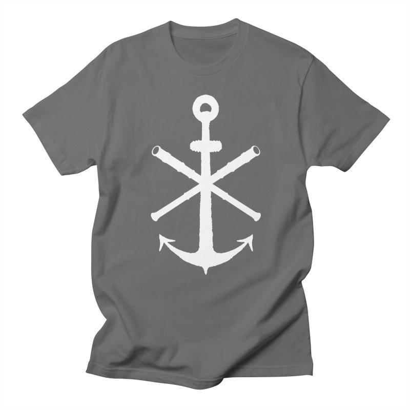 All Ways But Still Oversized Logo - White  Men's T-Shirt by Sailor James