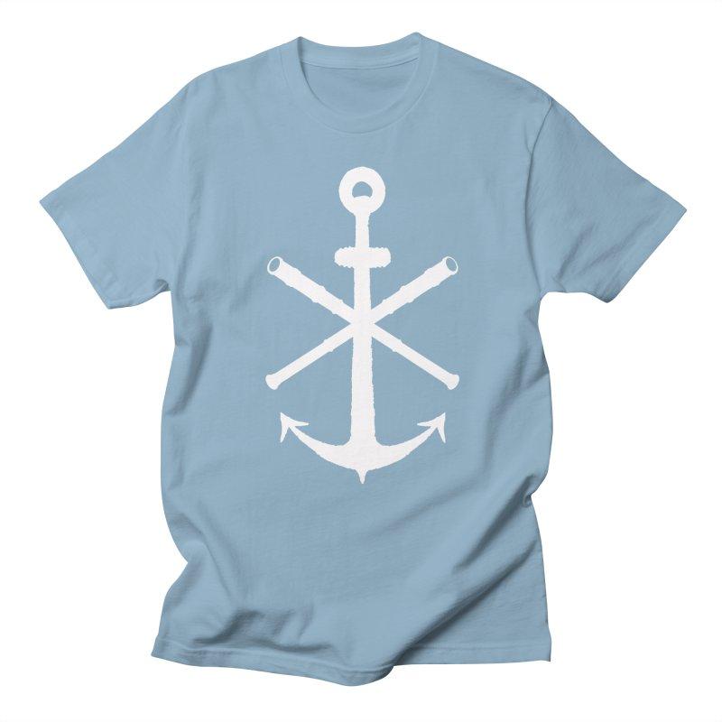 All Ways But Still Oversized Logo - White  Men's Regular T-Shirt by Sailor James