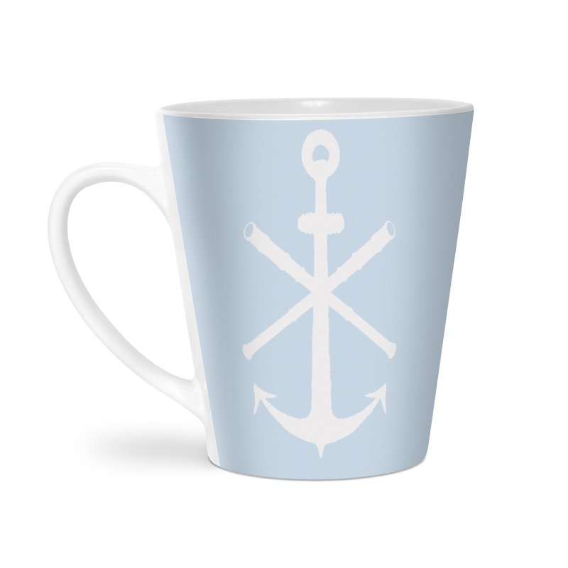All Ways But Still Oversized Logo - White  Accessories Latte Mug by Sailor James