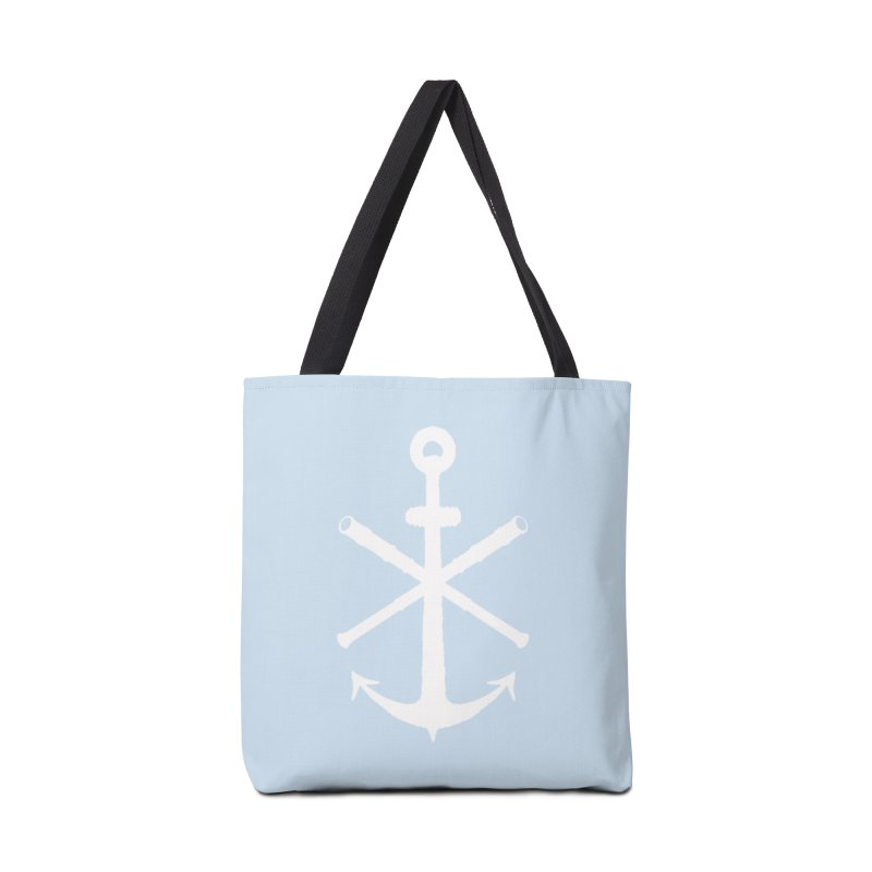 All Ways But Still Oversized Logo - White  Accessories Bag by Sailor James