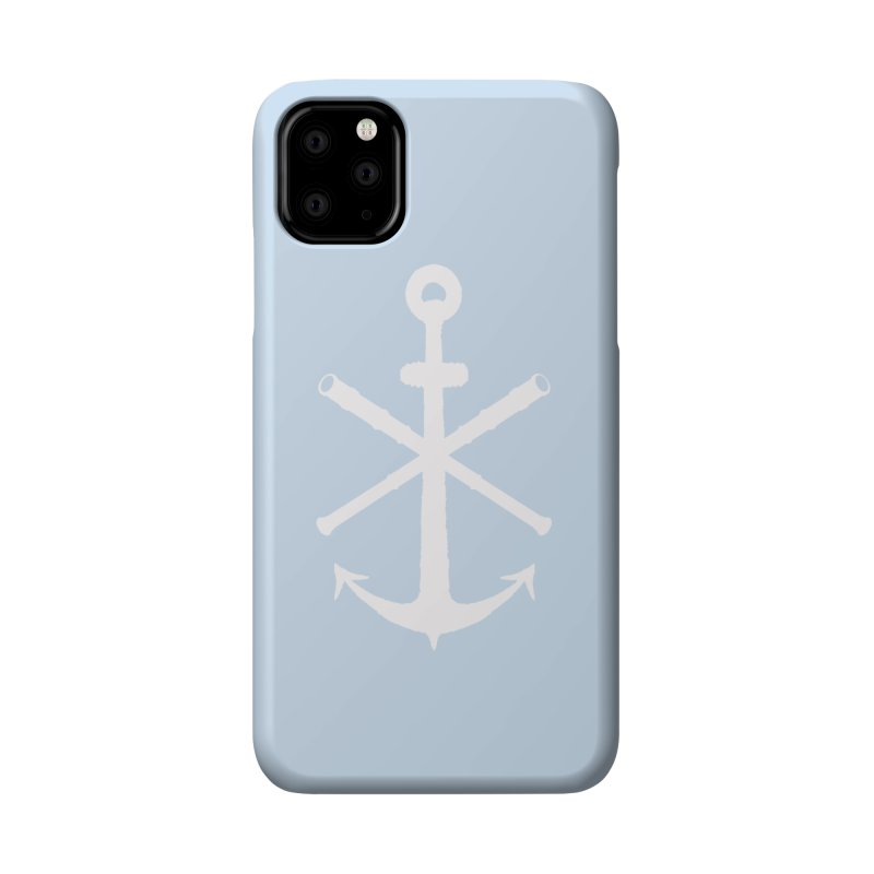 All Ways But Still Oversized Logo - White  Accessories Phone Case by Sailor James