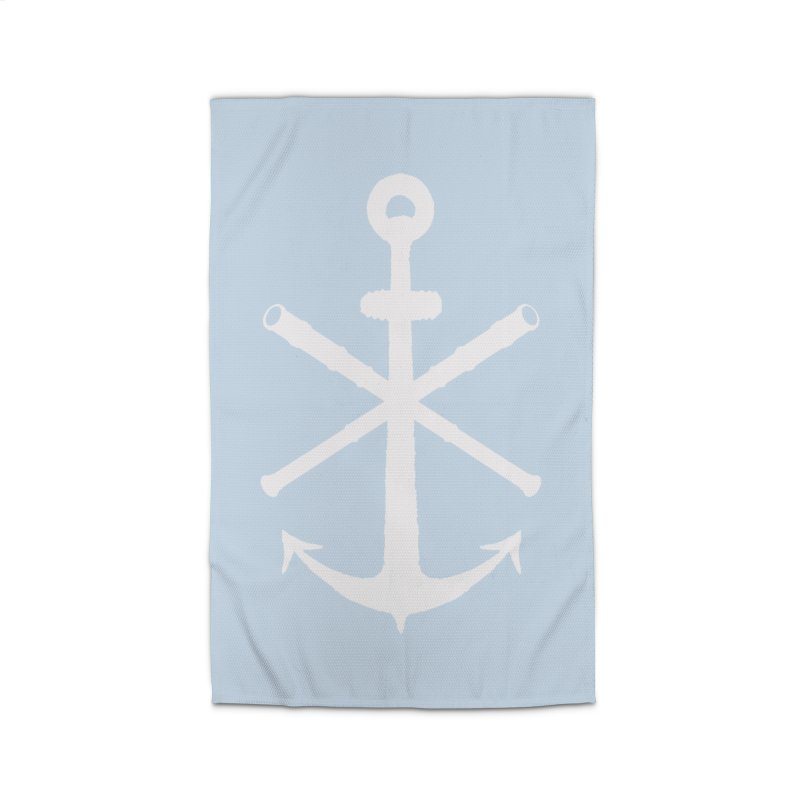 All Ways But Still Oversized Logo - White  Home Rug by Sailor James