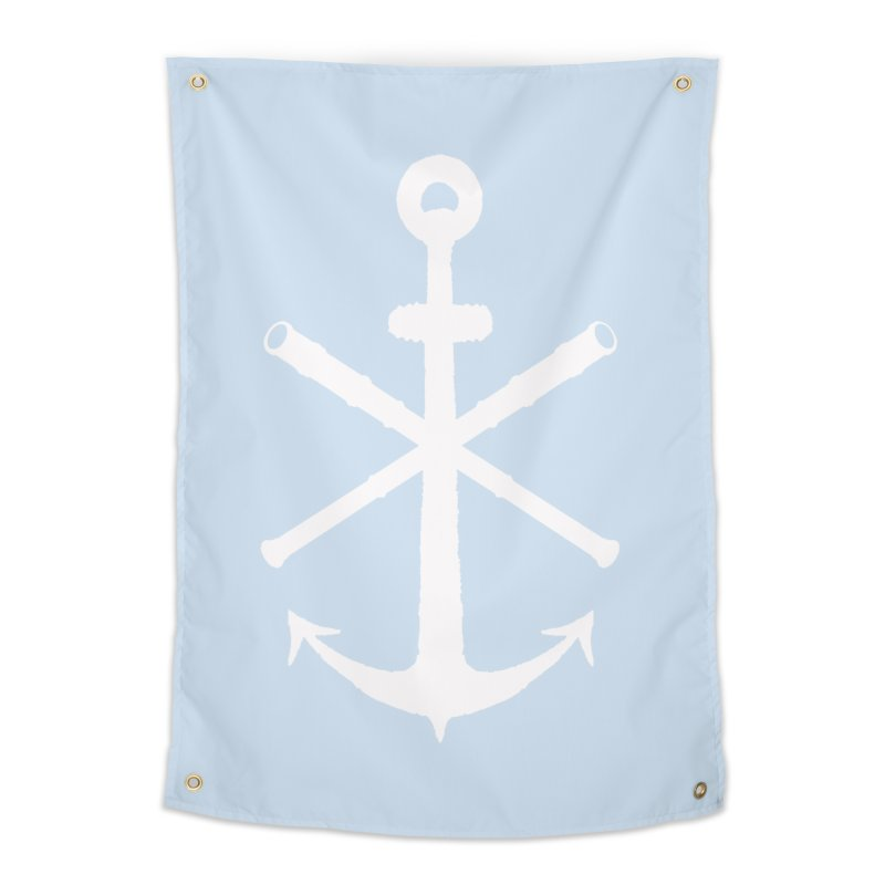All Ways But Still Oversized Logo - White  Home Tapestry by Sailor James