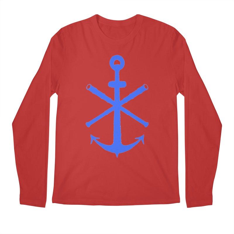 All Ways But Still Oversized Logo - Blue Men's Regular Longsleeve T-Shirt by Sailor James
