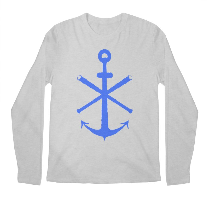 All Ways But Still Oversized Logo - Blue Men's Regular Longsleeve T-Shirt by Sailor James