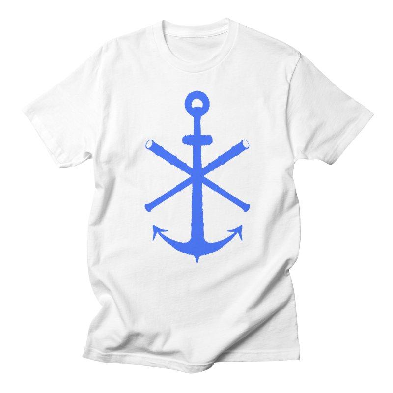 All Ways But Still Oversized Logo - Blue Men's Regular T-Shirt by Sailor James