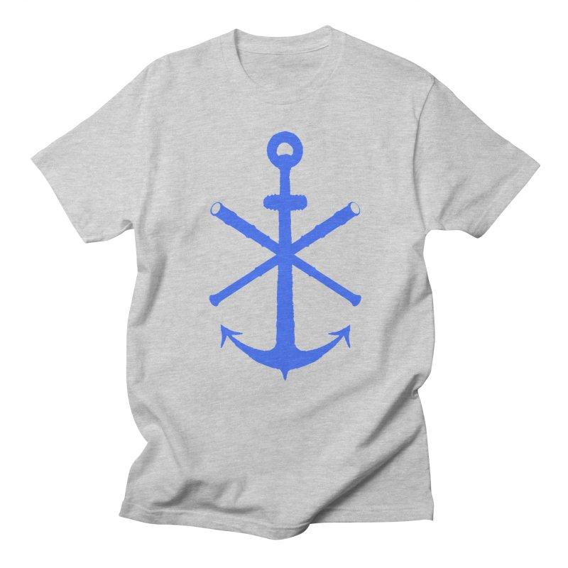 All Ways But Still Oversized Logo - Blue Women's Regular Unisex T-Shirt by Sailor James