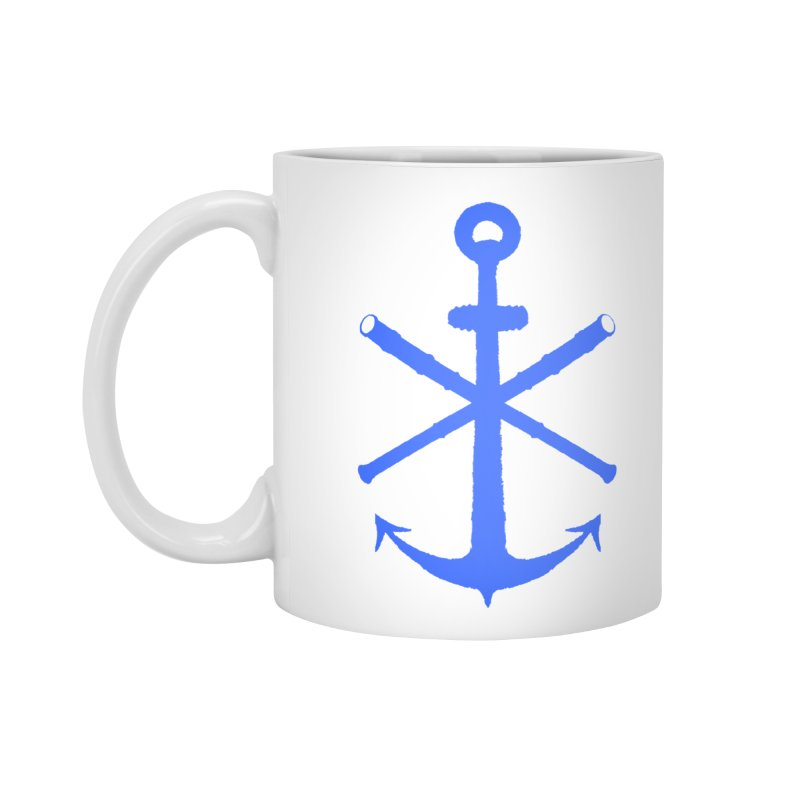 All Ways But Still Oversized Logo - Blue Accessories Mug by Sailor James