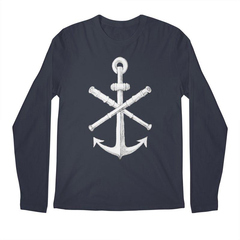 ALL WAYS BUT STILL Oversized Logo - Drawing Men's Regular Longsleeve T-Shirt by Sailor James