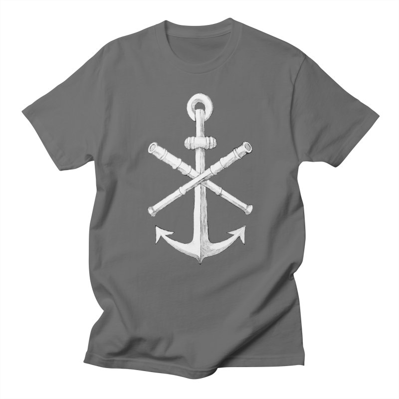 ALL WAYS BUT STILL Oversized Logo - Drawing Men's Regular T-Shirt by Sailor James