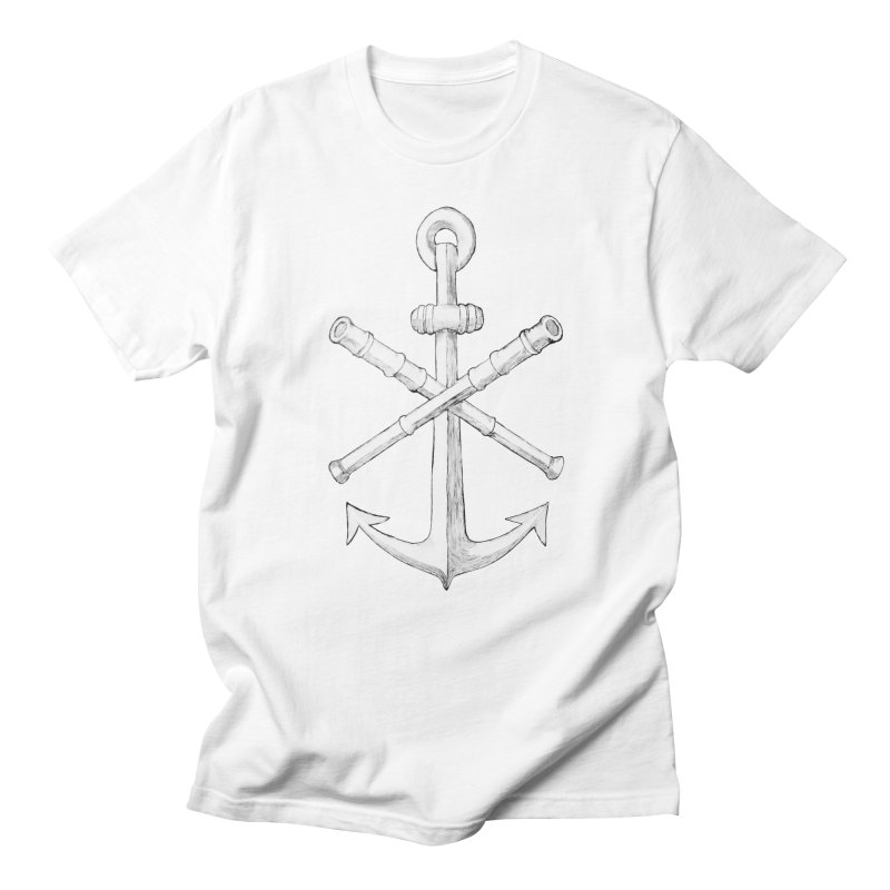 ALL WAYS BUT STILL Oversized Logo - Drawing Women's Regular Unisex T-Shirt by Sailor James