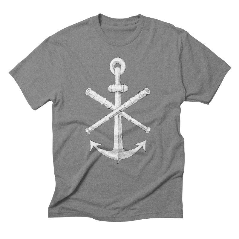 ALL WAYS BUT STILL Oversized Logo - Drawing Men's Triblend T-Shirt by Sailor James