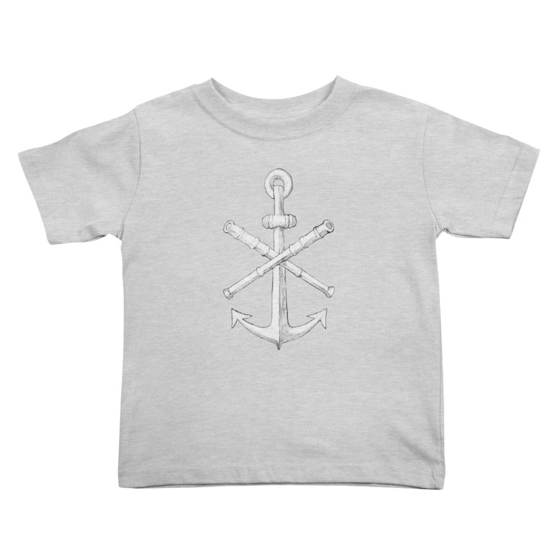 ALL WAYS BUT STILL Oversized Logo - Drawing Kids Toddler T-Shirt by Sailor James