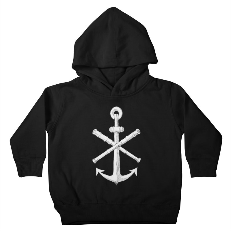ALL WAYS BUT STILL Oversized Logo - Drawing Kids Toddler Pullover Hoody by Sailor James