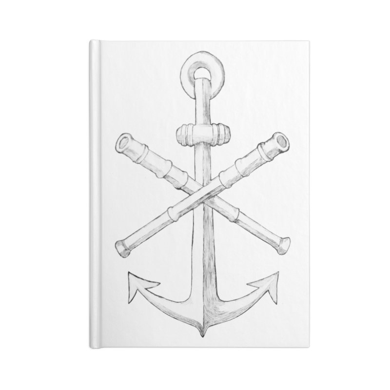 ALL WAYS BUT STILL Oversized Logo - Drawing Accessories Notebook by Sailor James