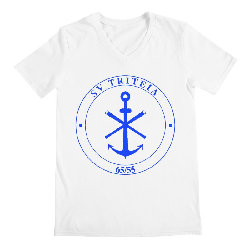 Sailing Vessel Triteia - AWBS logo Men's V-Neck by Sailor James