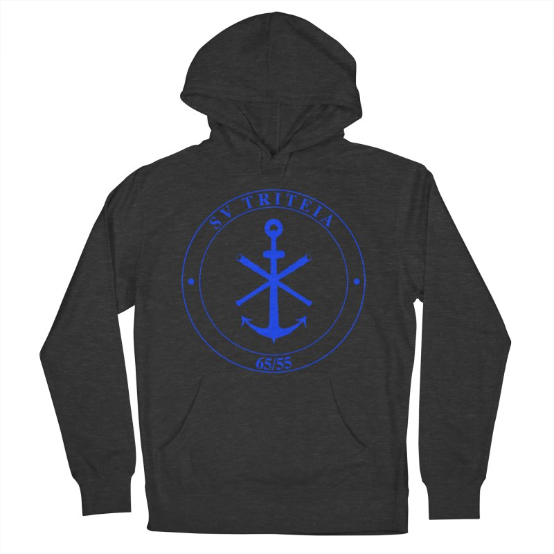 Sailing Vessel Triteia - AWBS logo Men's French Terry Pullover Hoody by Sailor James