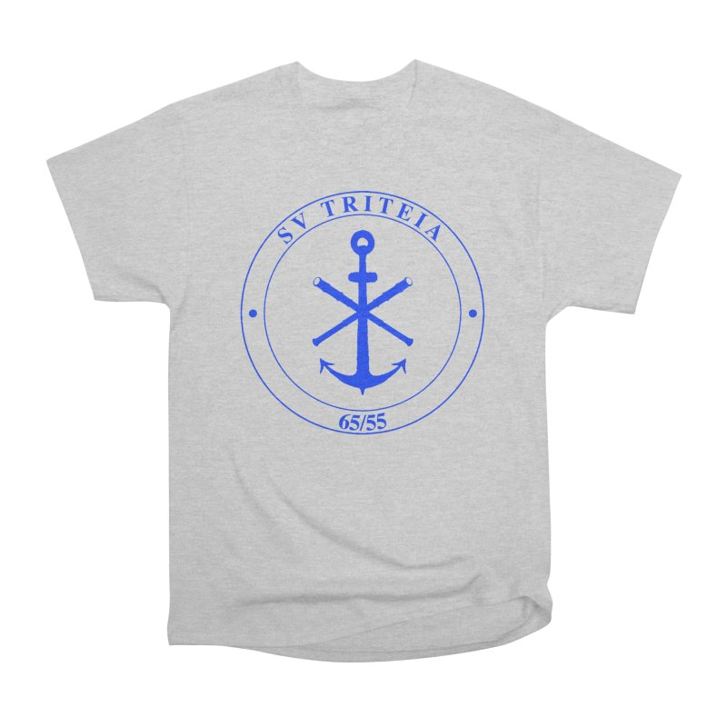 Sailing Vessel Triteia - AWBS logo Men's Heavyweight T-Shirt by Sailor James
