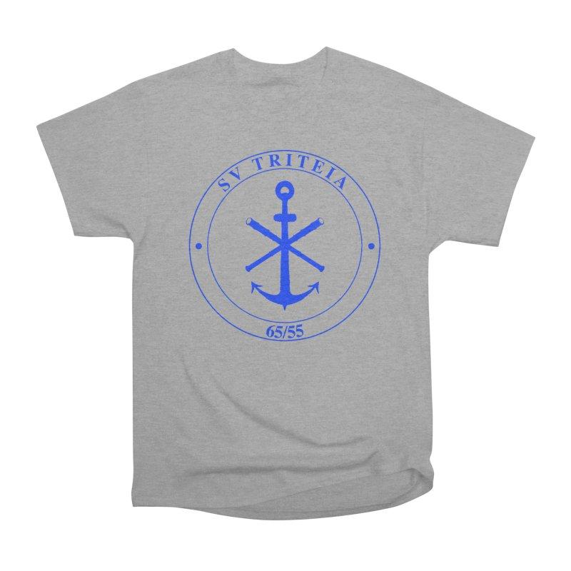 Sailing Vessel Triteia - AWBS logo Women's Heavyweight Unisex T-Shirt by Sailor James