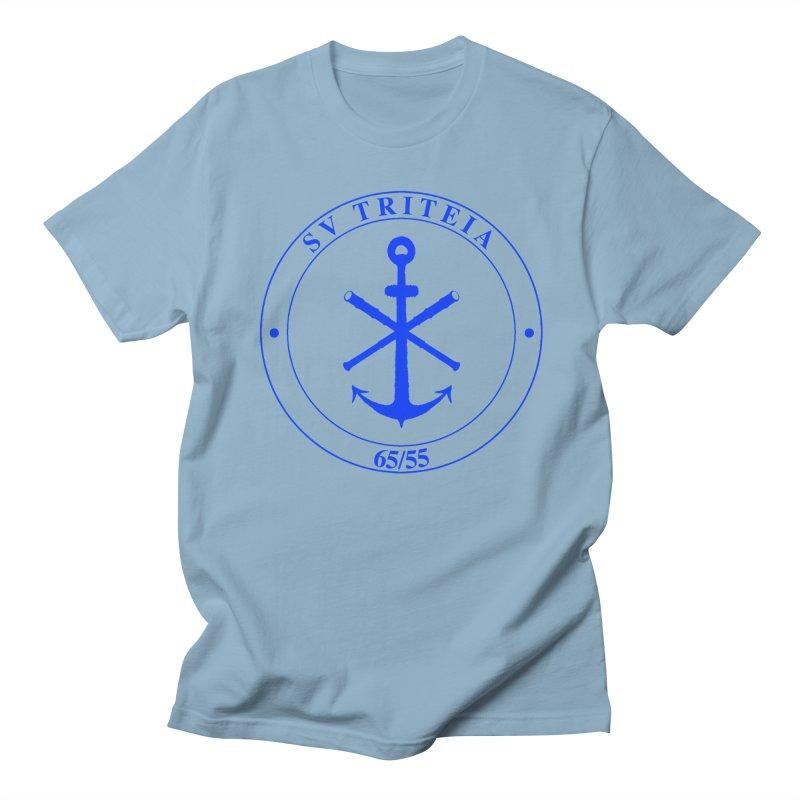 Sailing Vessel Triteia - AWBS logo Men's Regular T-Shirt by Sailor James