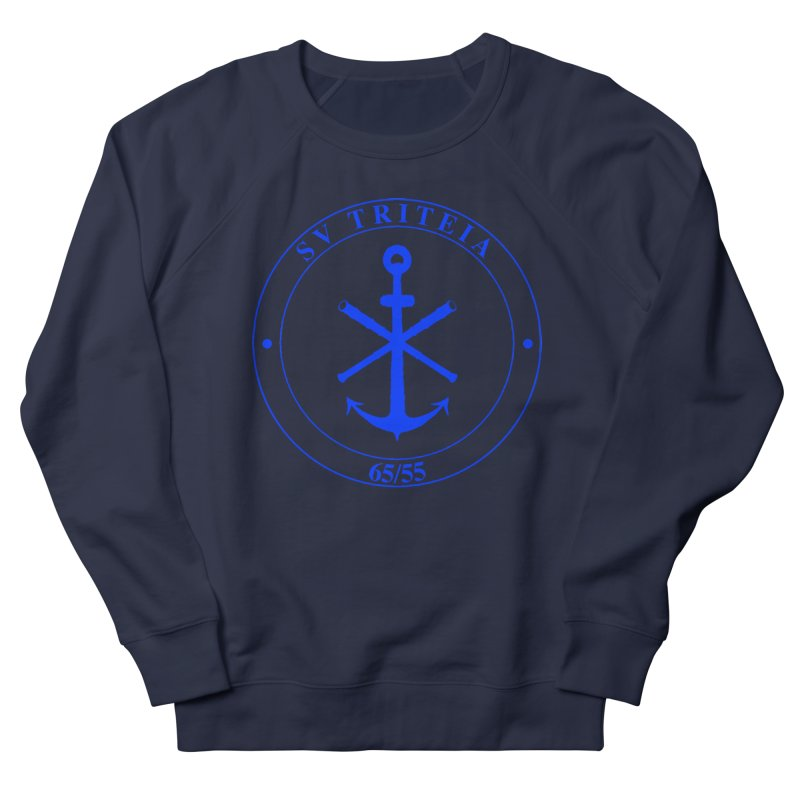 Sailing Vessel Triteia - AWBS logo Men's French Terry Sweatshirt by Sailor James