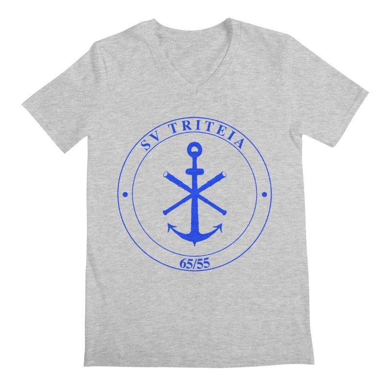Sailing Vessel Triteia - AWBS logo Men's Regular V-Neck by Sailor James