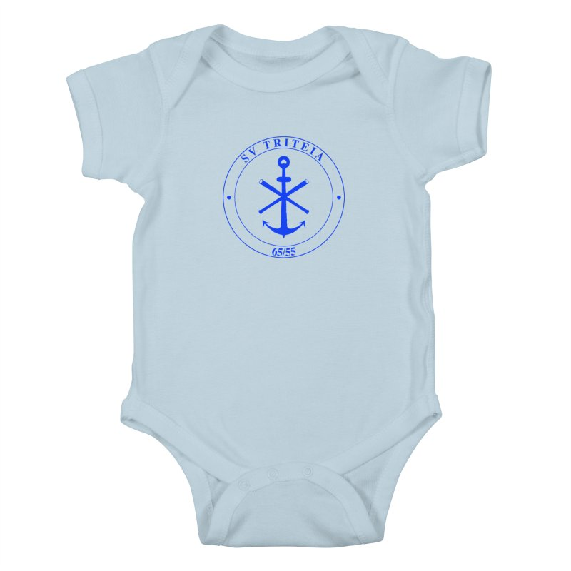 Sailing Vessel Triteia - AWBS logo Kids Baby Bodysuit by Sailor James