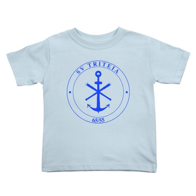 Sailing Vessel Triteia - AWBS logo Kids Toddler T-Shirt by Sailor James