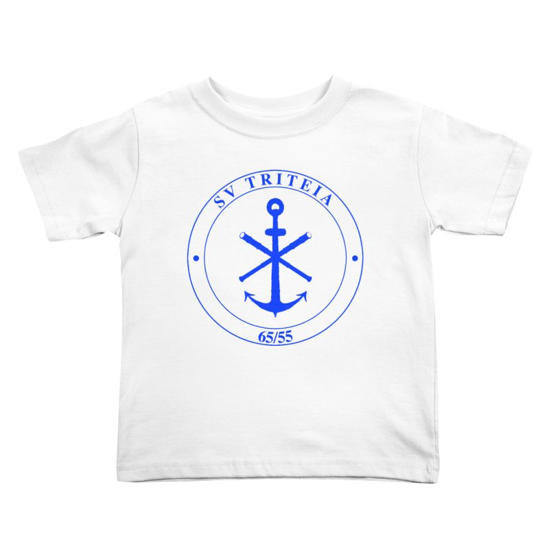 Sailing Vessel Triteia - AWBS logo Kids Toddler T-Shirt by Sailor James