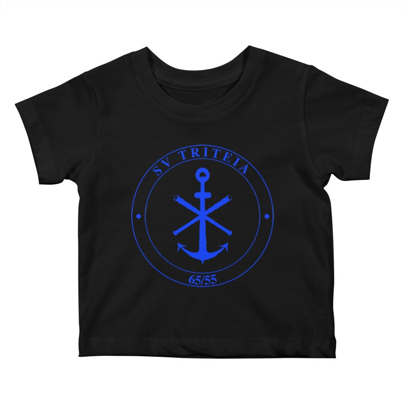 Sailing Vessel Triteia - AWBS logo Kids Baby T-Shirt by Sailor James