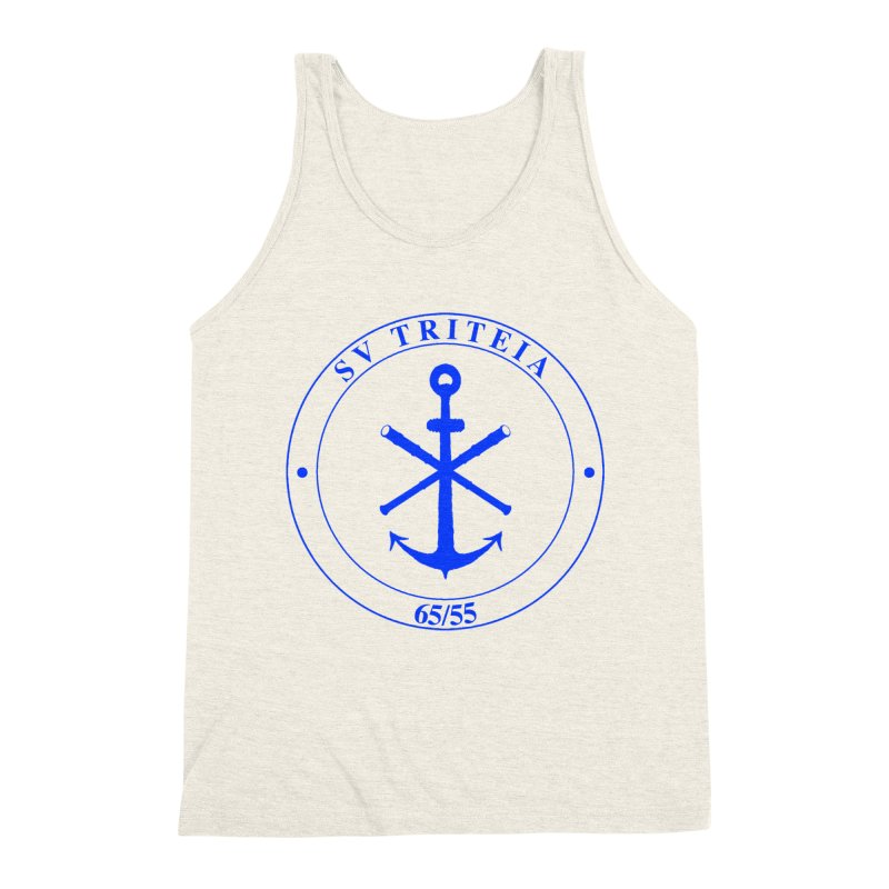 Sailing Vessel Triteia - AWBS logo Men's Triblend Tank by Sailor James