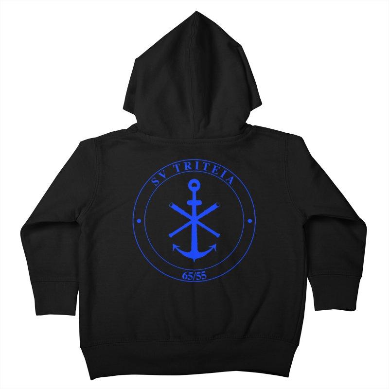Sailing Vessel Triteia - AWBS logo Kids Toddler Zip-Up Hoody by Sailor James